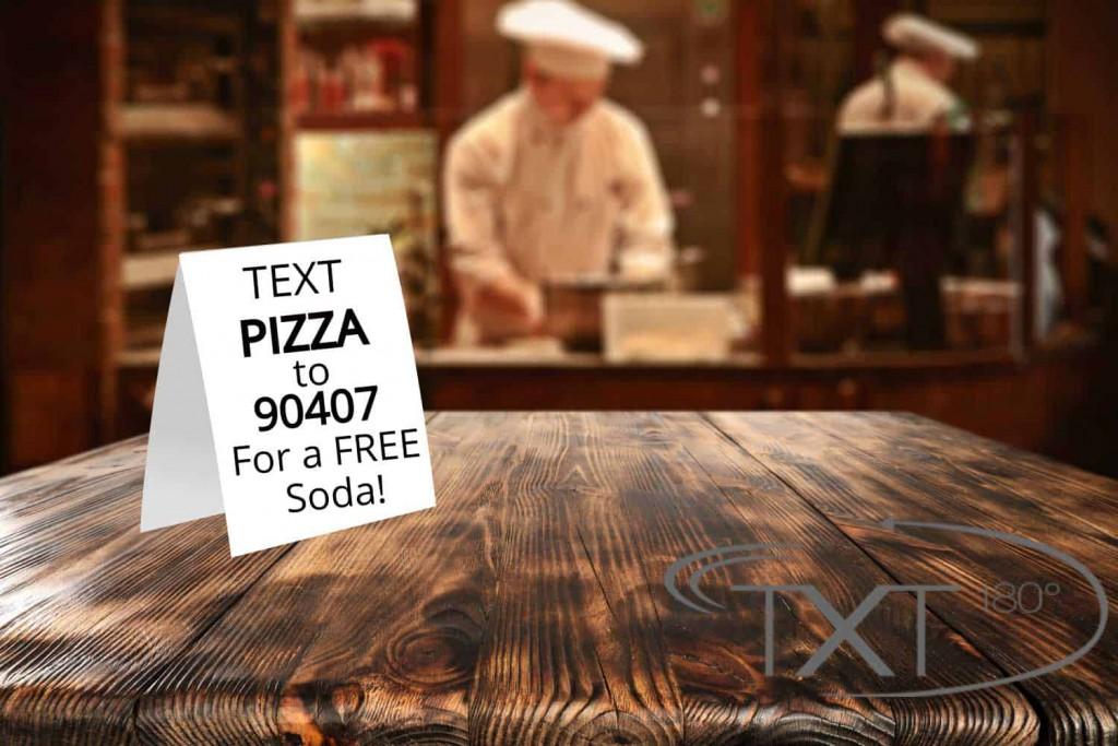restaurant text marketing