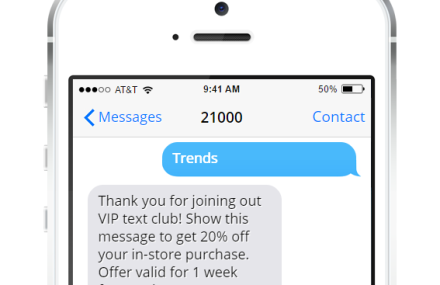 Text Message Marketing for Retail Stores and Outlets