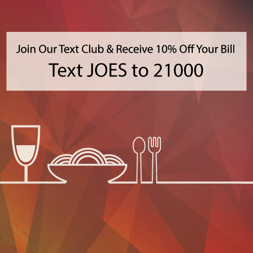restaurant text marketing opt-in example
