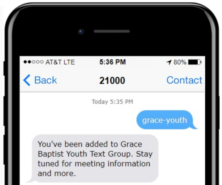 church text messaging
